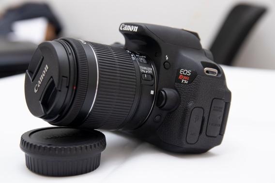 Canon T5i Com Lente 18-55