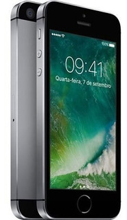 iPhone SE 128gb Cinza Sem Carregador E Fone De Ouvido.