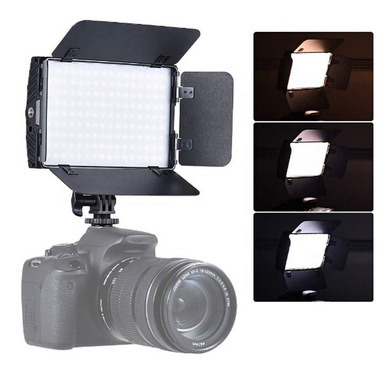 Iluminador Led K2e 15b Pro Nikon Canon 70d T5i D5100