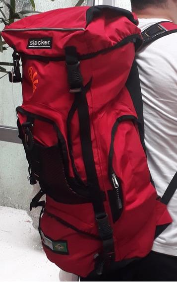 Mochila De Alpinismo Camping 30 Litros Cuciline Slacker Top