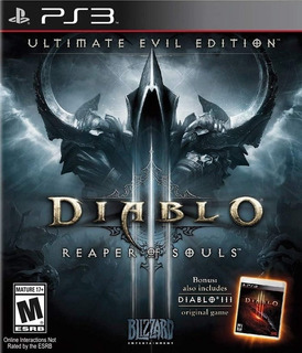 Diablo 3 Reaper Of Souls Ultimate Evil Edition Digital Ps3