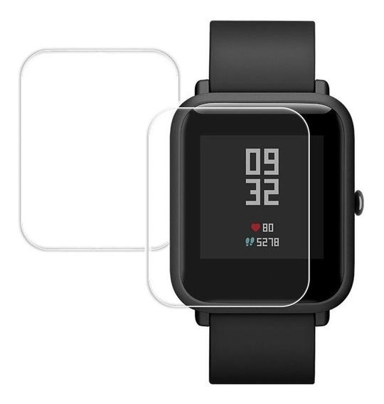 Kit 2 Películas Gel Xiaomi Amazfit Bip / Bip Lite Frete R$14