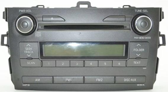 Radio Som Cd Players Original Toyota Corolla 2009/2010/2011/