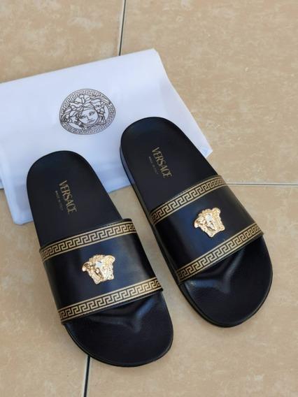 Sandalias Chanclas Gucci Versace Unisex