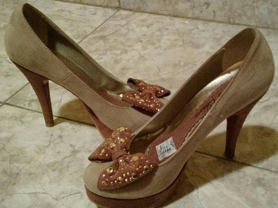 Zapatos Beige-marrones