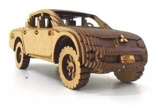 Caminhonete Carro Miniatura Triton L200 Mitsubishi Brinquedo