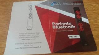 Parlante Bluetooth Noga