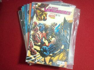 Novos Vingadores 41 A 50 (editora Panini - 2007/2008)