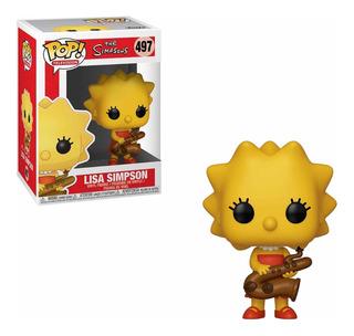 Lisa Simpson Los Simpsons Funko Pop Television Original