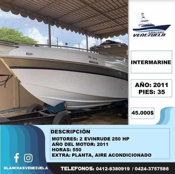 Lancha Intermarine 35 Sport Lv40