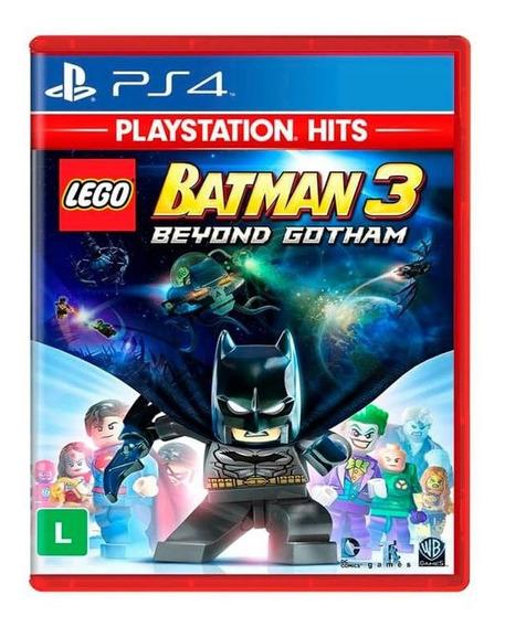 Jogo Lego Batman 3 Beyond Gotham Ps4 Mídia Física Dublado Br