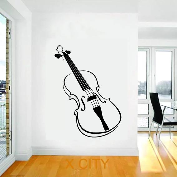 Vinilo Decorativo Plotter Pared Decoracion Intrumento Musica
