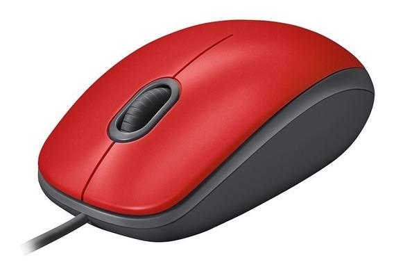 Mouse Óptico Logitech Usb 2.0 M110 Clique Silencioso