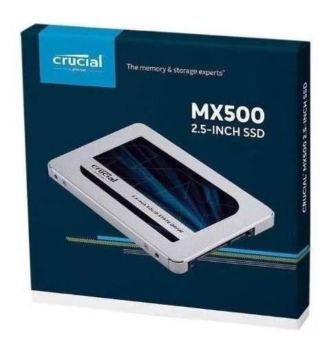 Hd Ssd 1tb Crucial Mx500 2.5 Interno **