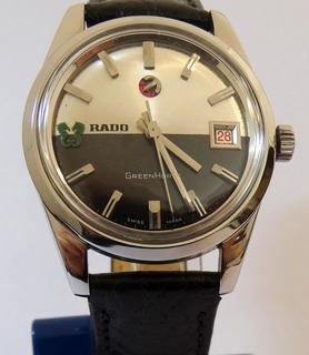 Reloj Rado Green Horse Swiss Automatic Calendario Garantía