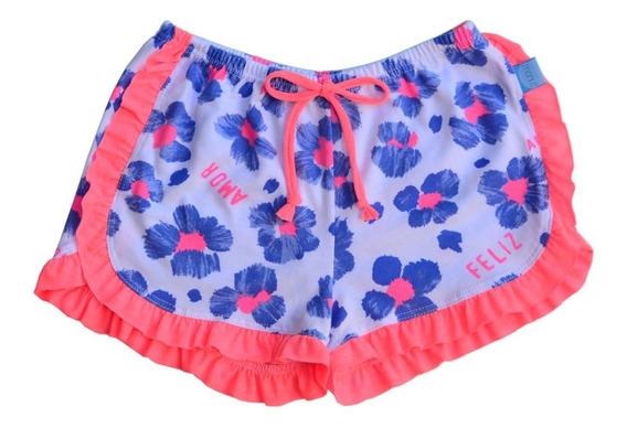 Pack X 4 Shorts Voladitos Nena - Desde 9 Meses Hasta 12 Años