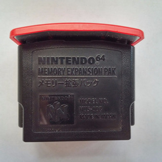 Expansion Pak N64 Original Nintendo + Garantia! Qualidade 10