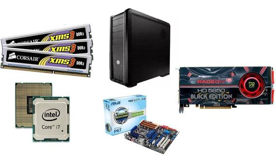 Pc Gamer Cooler Master Intel Core I7 Radeon Hd 5850 12gb Ram