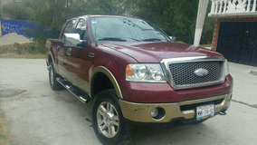 Ford Pick-up Ford Lobo Lariat Doble Cabina Piel Y Quemacocos