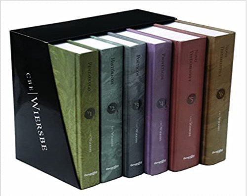 Comentário Bíblico Expositivo Wiersbe 6 Volumes