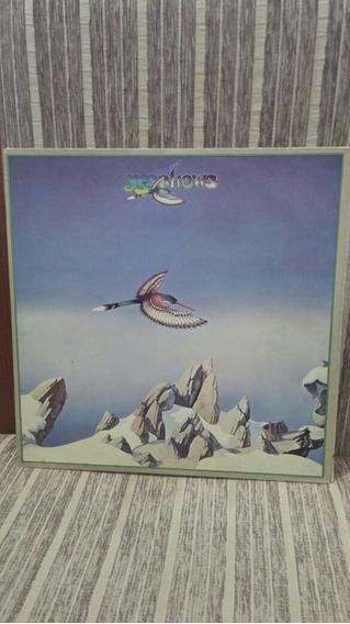 Lp/vinil - Yes Shows - 1981 - Capa Dupla Disco Duplo