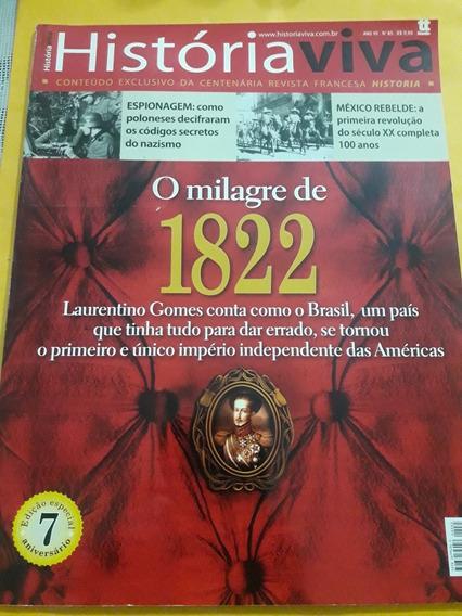 Revista História Viva - O Milagre De 1822