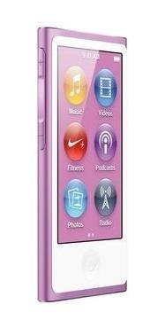 iPod Nano Apple 7ª Geração 16gb Apenas Aparelho E Cabo Usb