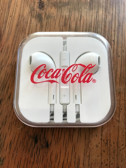 Fone De Ouvido Coca-cola Promoção Mcdonald