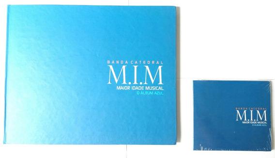 Album Banda Catedral Azul N 815 Autografado E Cd Azulacrado