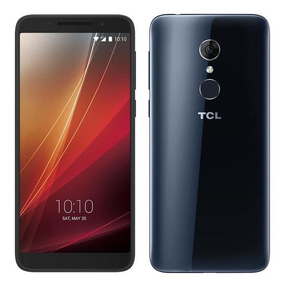 Smartphone Tcl C5, Preto, Tela 5.5, Desbloqueio Facial, 32gb