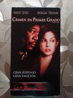 Vhs Crimen En Primer Grado (2001)