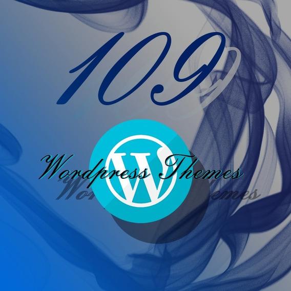 Pacote 109 Temas Wordpress
