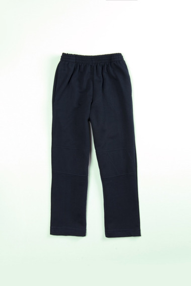 Pantalones Mono Escolares Unisex Jeyra Con Rodillera Marino