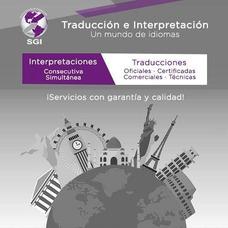 Interpretación Simultánea, Traducción Oral Y Escrita
