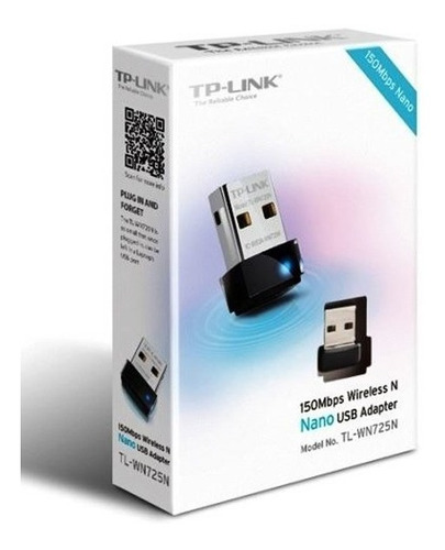 Adaptador Usb Tp-link Usb Tl-wn725n 150n