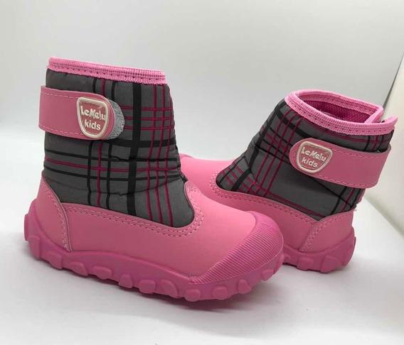 Botas Impermeable Nieve Moda Le Melu 900508
