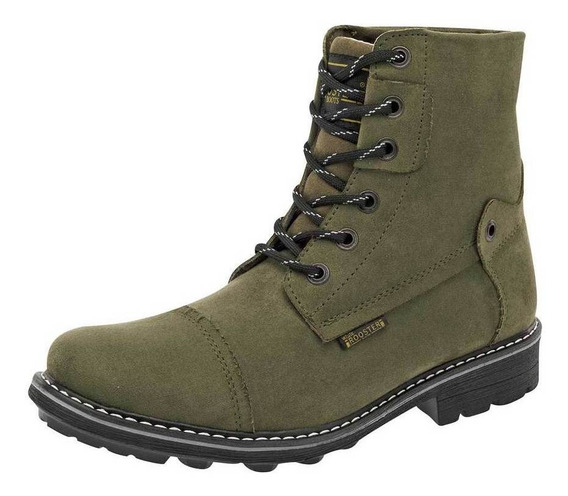 Bota Y Botin Rooster 112 Color Olivo Hombre Sc-oi19