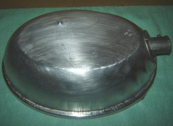 Protetor De Iluminação De Rua Anos 80 Aluminio Liso