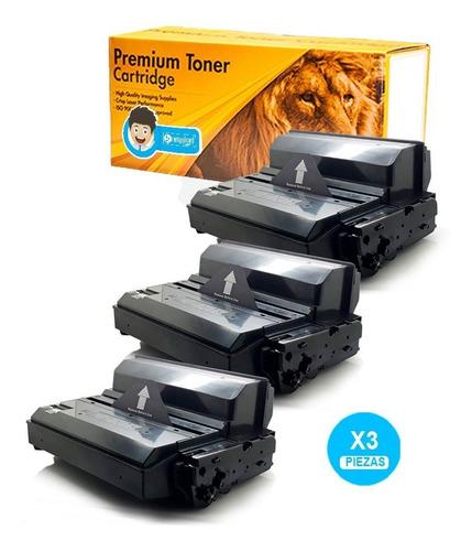 3pcs. Toner Mlt-d 203u 3320 3370 3820 15k Calidad Premium