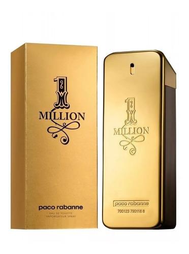 Imagen 1 de 9 de Paco Rabanne One Million Edt X100ml - Perfume Importado