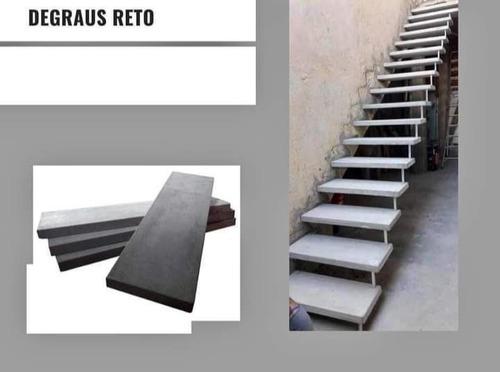 Escada Pré Moldada ( Flutuante Reta Ou Em ( L ) De 0,80 Cm.