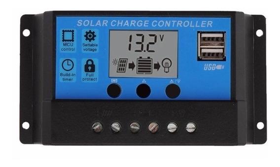 Controlador De Carga Solar Pwm 20a