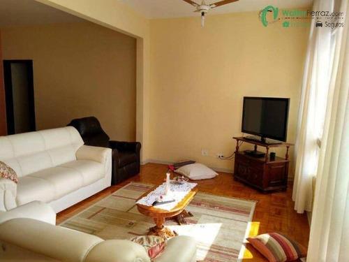 Imagem 1 de 15 de Apartamento 3 Dormitórios 1 Suíte 160 M²  - Boqueirão - Santos/sp - 2279
