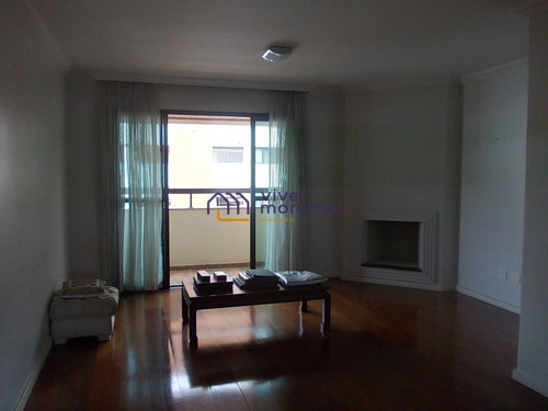 Imagem 1 de 15 de Real Parque - 125m² Com Lareira - Nm2289