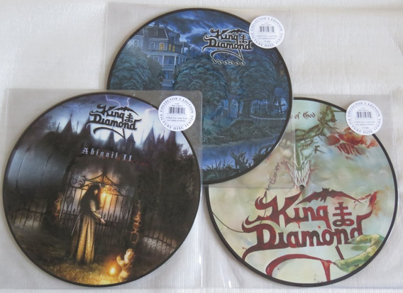 King Diamond Voodoo + House Of God + Abigail 2 Picture Lp