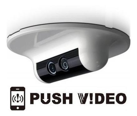 Câmera Ip Hd Sensor Embutido E Ir - Integração Com Automação