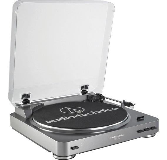Toca Disco Vinil Audio Technica At Lp60 Bivolte Com Transfor
