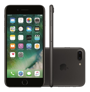 iPhone 7 Plus 32gb Ios 10 Tela 5.5 12mp 4g, Wifi I Vitrine