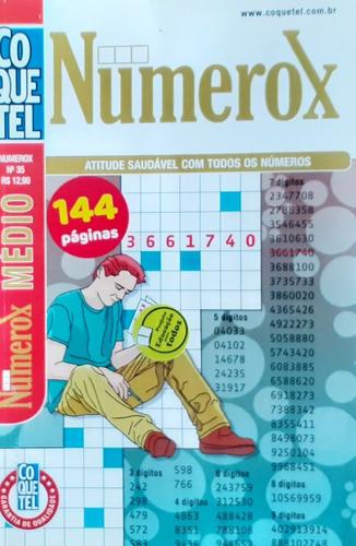 Kit Coquetel Numerox, Cruzadox, Dominox Nivel Médio