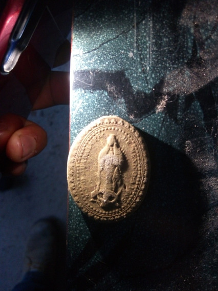 Medalla N S D Guadalupe De Mexico 1805 14k Oro